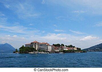 bella, isola, lago maggiore