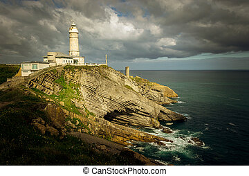 Bella Vista lighthouse (Santander, Spain) - Bella Vista...