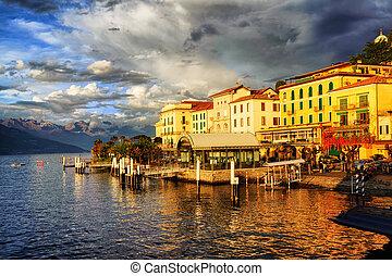 bellagio, 호수 como, 이탈리아