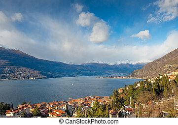 Bellano on Lake Como Italy