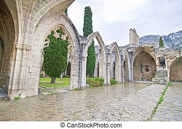 Bellapais Abbey in Northern Cyprus - Bellapais monastery