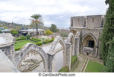 Bellapais Abbey in Northern Cyprus