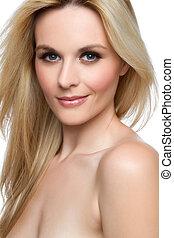 belle femme, blonds