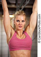 belle femme, fitness