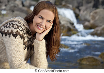 belle femme, scandinave