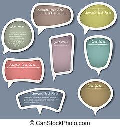 bellen, communie, toespraak, calligraphic