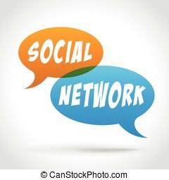 bellen, toespraak, netwerk, sociaal