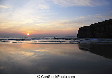 belleza de la playa