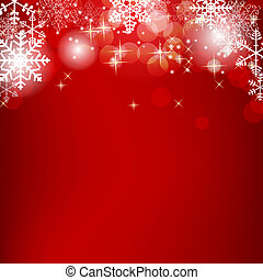 belleza, resumen, ilustración, fondo., vector, año, nuevo,...