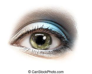 bellezza, occhio