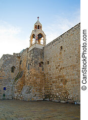 Bellfry of the Church of the Nativity in Bethlehem