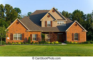 bello, casa, -, proprietà