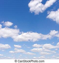 bello, cielo blu