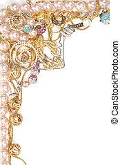 bello, cornice, gioielleria