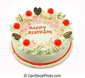 bello, intero, torta