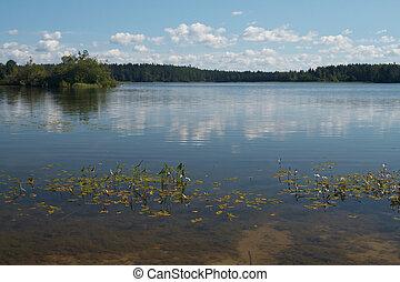 bello, lago