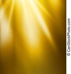 bello, lucidato, oro, struttura