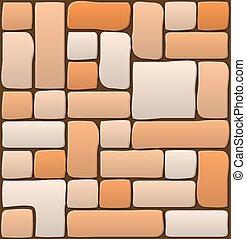 bello, muro pietra, carta da parati, illustrazione, disegno, muratura, bandiera