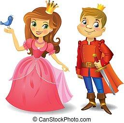 bello, principessa, principe