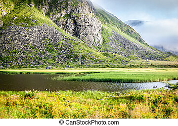 bello, scandinavia, norvegia, paesaggio
