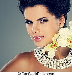 bello, stile, moda, foto, matrimoni, decorazioni, ragazza