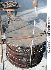 Bellows - Forging equipment - bellows for heating forging...