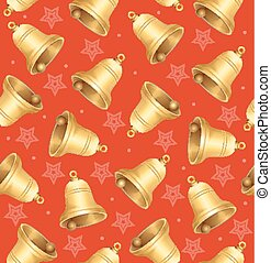 Bells Background Pattern. Vector