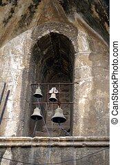 Bells in a Jerusalem holy church