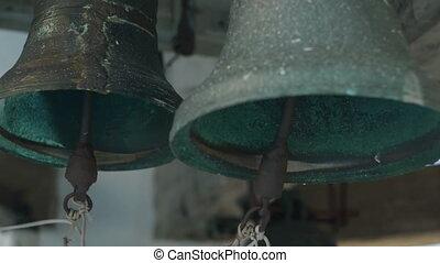 Bells on church bellfry