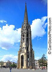belltower, de, saint-michel, basilique, (14th-16th, ct.)