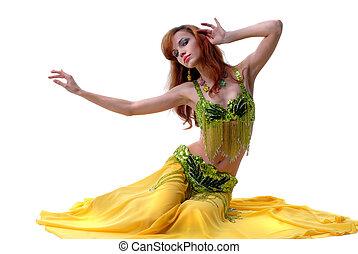 belly-dance, pertenencia étnica, bailarín, dan
