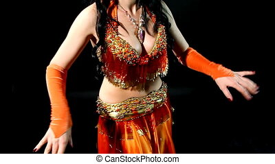 Belly dance - shake body parts