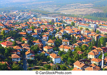 Belogradchik, Bulgaria town panorama