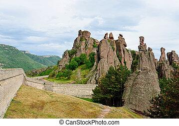 belogradchik, steinen, festung, bulgarien