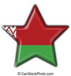 belorussian, botón, bandera, forma estrella