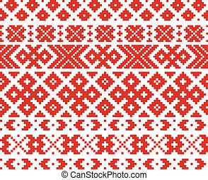 belorussian, ornamento, tradicional