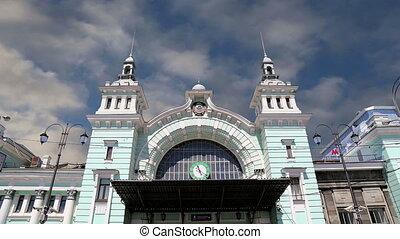 Belorussky railway station-- Moscow - Belorussky railway...