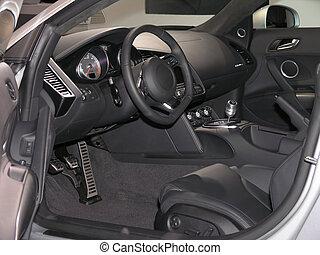 belső, autó, 1, fényűzés, sport