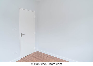 belső, eleven, üres szoba, háttér