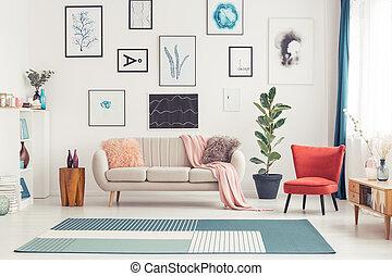 belső, nappali, színes