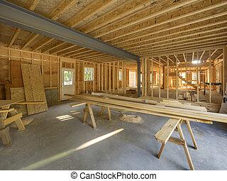 belső, otthon, remodeling