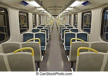 belső, személyszállító vonat