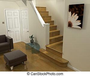 belső, szoba