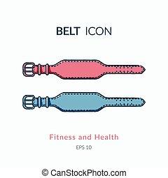 Belt for back protection.