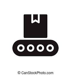 belt   glyph color icon