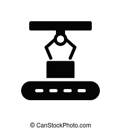 belt  glyph flat icon