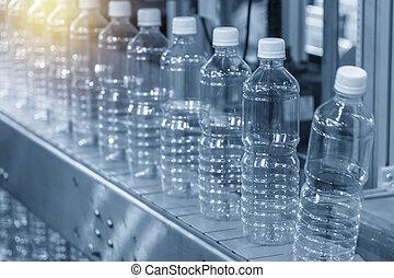 belt., műanyag, üres üveg, kézbesítő