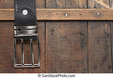 Belt On Wood