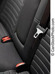 belts, автомобиль, современное, -, сиденье, seats, интерьер, задний