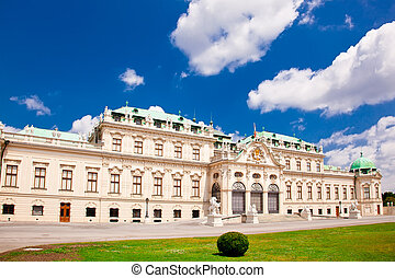 Belvedere (ital. Belvedere)  a palace complex in Vienna in Baroque style